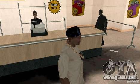 Bandana batman for GTA San Andreas second screenshot