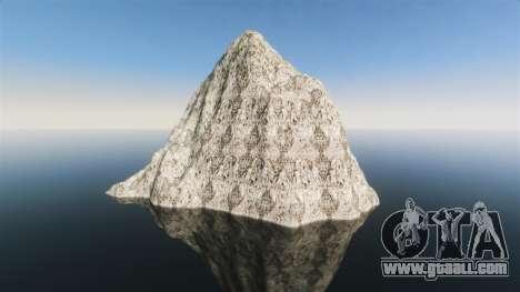 Mountain landscape for GTA 4