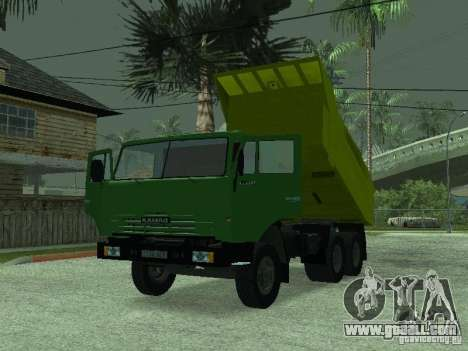 KAMAZ 55112 for GTA San Andreas right view