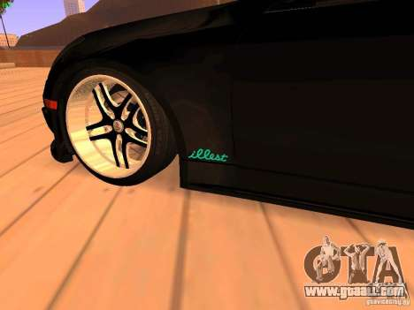 Infiniti G35 V.I.P for GTA San Andreas back view
