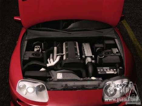Toyota Supra TRD3000GT v2 for GTA San Andreas wheels