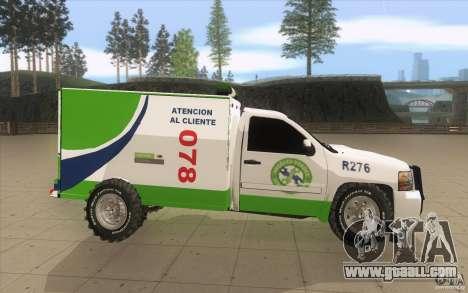 Chevrolet Suburban for GTA San Andreas inner view