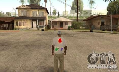 Gotcha Shirt for GTA San Andreas second screenshot