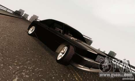 Mercedes-Benz 190E V2.0 for GTA San Andreas inner view