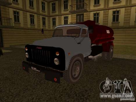 GAZ 53 water carrier for GTA San Andreas