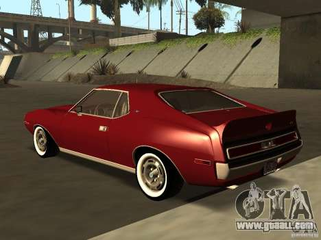 AMC AMX Stock for GTA San Andreas left view