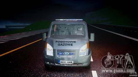 Ford Transit Usluga polski gazu [ELS] for GTA 4 side view