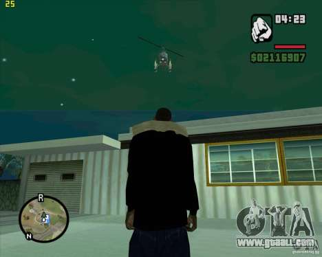 Helicopter help for GTA San Andreas second screenshot