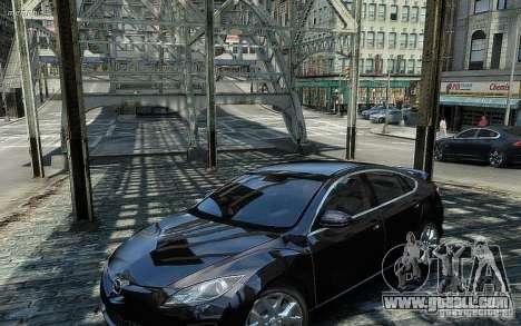 Mazda 6 2008 for GTA 4 back left view