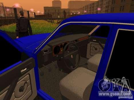 Volga GAZ 31029 for GTA San Andreas back view
