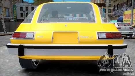 AMC Pacer 1977 v1.0 for GTA 4 back view