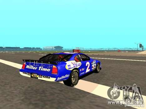 Ford Taurus Nascar LITE for GTA San Andreas right view
