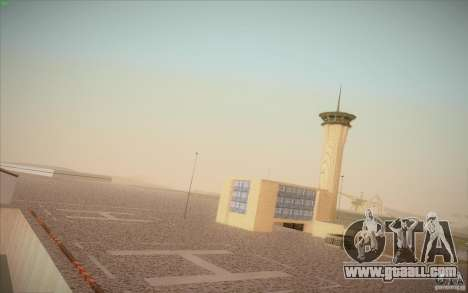 New San Fierro Airport v1.0 for GTA San Andreas second screenshot