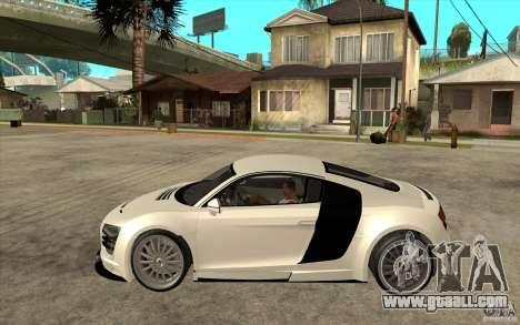 Audi R8 5.2 FSI custom for GTA San Andreas left view