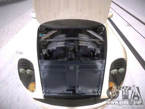 Aston Martn DB9 2008 for GTA San Andreas inner view