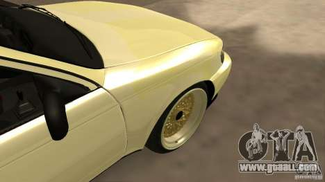 Toyota Corolla Tuned for GTA San Andreas back view