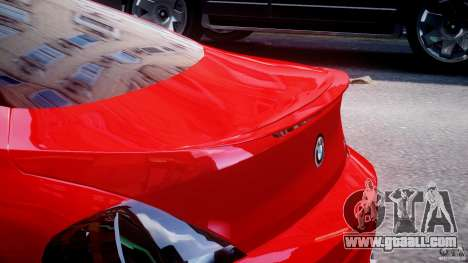 BMW M6 Orange-Black Bullet for GTA 4