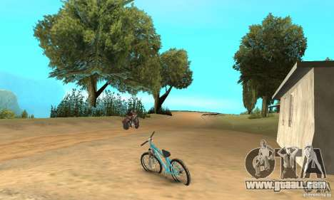 Dirt Jump Bike for GTA San Andreas right view