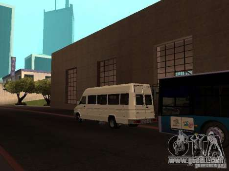 Iveco TurboDaily 49-10 for GTA San Andreas back left view