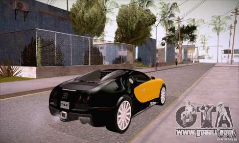 Bugatti Veyron 16.4 EB 2006 for GTA San Andreas right view