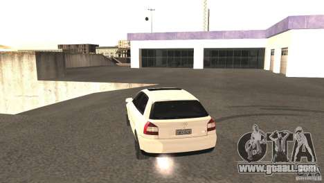 Audi A3 1.8T 180cv for GTA San Andreas back view