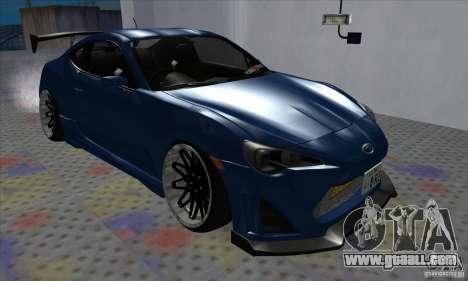 Subaru BRZ JDM for GTA San Andreas
