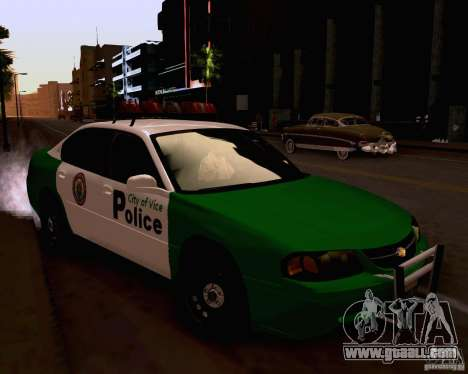 Chevrolet Impala 2003 VCPD police for GTA San Andreas