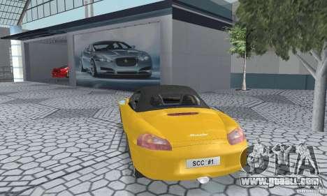 Porsche Boxster for GTA San Andreas left view