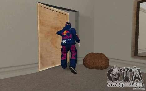 Red Bull Clothes v2.0 for GTA San Andreas sixth screenshot