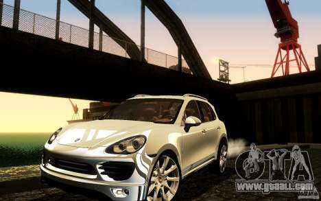 Porsche Cayenne 958 2010 V1.0 for GTA San Andreas bottom view
