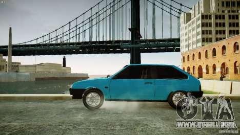 VAZ 21083i for GTA 4 left view