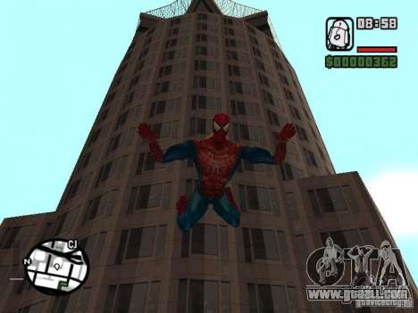 Spider Man From Movie for GTA San Andreas