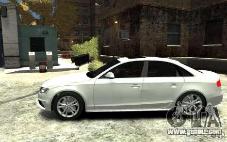 Audi S4 2010 v.1.0 for GTA 4 left view