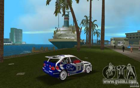 Ford Escort Cosworth RS for GTA Vice City right view