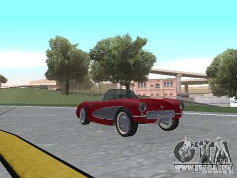 Chevrolet Corvette C1 for GTA San Andreas left view