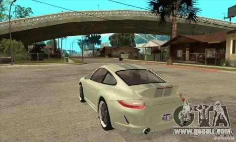 Porsche 911 Sport Classic for GTA San Andreas back left view