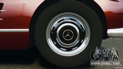 Mercedes-Benz 300 SL Roadster v1.0 for GTA 4 bottom view