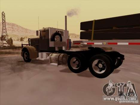 Peterbilt 351 for GTA San Andreas right view