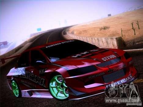 Mitsubishi Lancer Evolution 9 Hypermax for GTA San Andreas