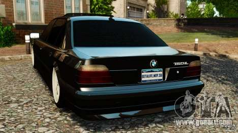 BMW 750iL E38 Light Tuning for GTA 4 back left view
