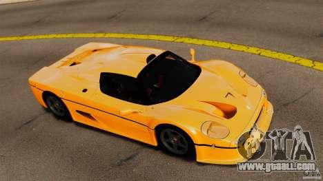 Ferrari F50 GT 1996 for GTA 4 right view