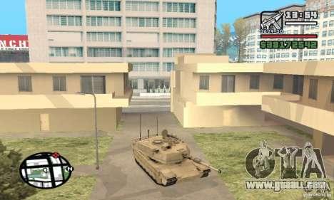 M1A2 Abrams TUSK for GTA San Andreas