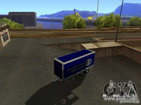 Trailer for Iveco Stralis for GTA San Andreas