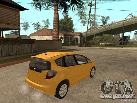 Honda Jazz (Fit) for GTA San Andreas right view
