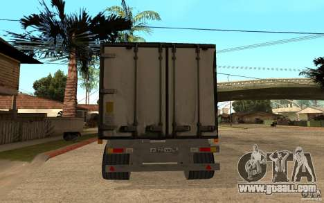Trailer Magnet for GTA San Andreas back left view