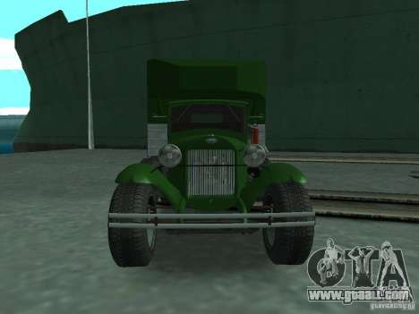 GAZ-AAA for GTA San Andreas right view