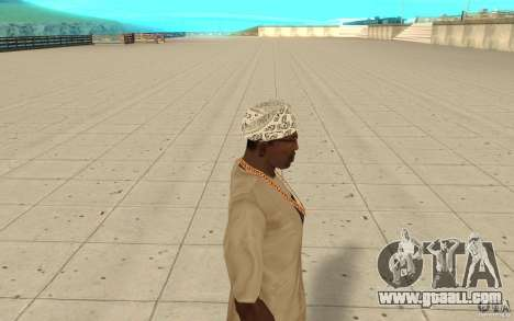 Bandana hellrider for GTA San Andreas second screenshot