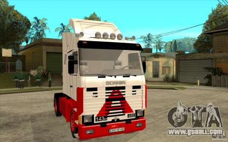Scania 143M 450 V8 for GTA San Andreas back view