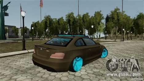 BMW 135i HellaFush for GTA 4 left view