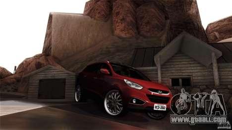Hyundai iX35 Edit RC3D for GTA San Andreas